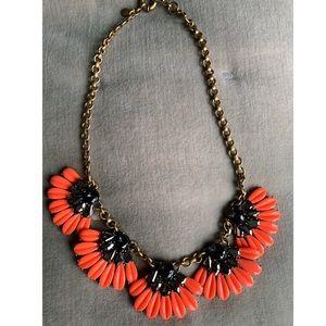 J. Crew Orange Necklace